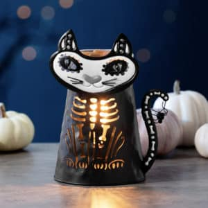 Very Superstitious Cat Scentsy Warmer | NEW! Very Superstitious Cat Scentsy Warmer | Harvest 2021 | Incandescent.Scentsy.us