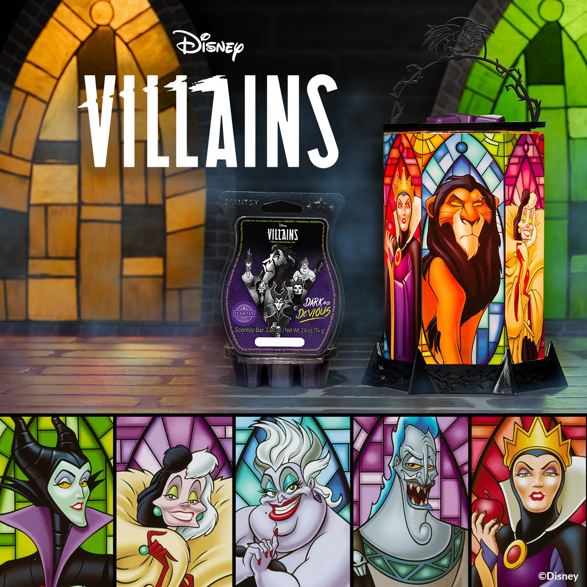 Villains All the Rage Scentsy Warmer 1