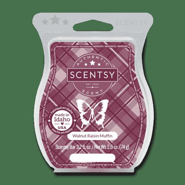 WALNUT RAISIN MUFFIN SCENTSY BAR | Walnut Raisin Scentsy Bar