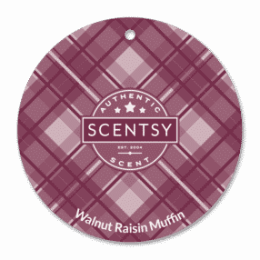 WALNUT RAISIN MUFFIN SCENTSY SCENT CIRCLE