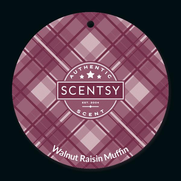 WALNUT RAISIN MUFFIN SCENTSY SCENT CIRCLE | Walnut Raisin Scentsy Scent Circle