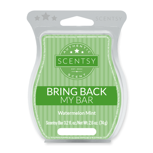 WATERMELON MINT SCENTSY BAR | BRING BACK MY BAR JUNE 2021