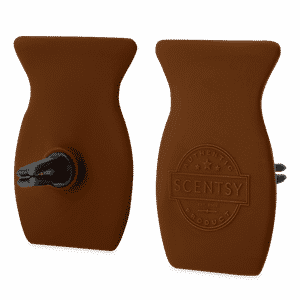 WEATHERED LEATHER SCENTSY CAR BAR CLIP