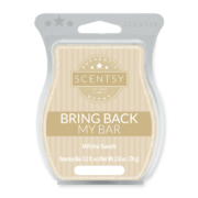 WHITE SANDS BRING BACK MY SCENTSY BAR JULY 2018
