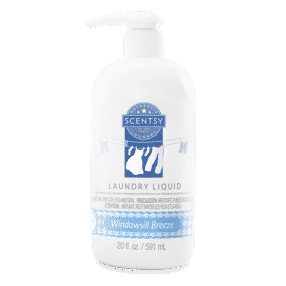 WINDOW SILL BREEZE SCENTSY LAUNDRY LIQUID