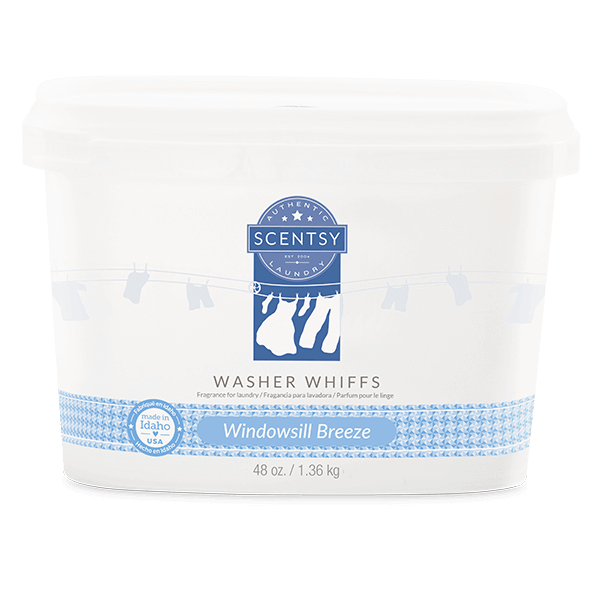 WINDOWSILL BREEZE SCENTSY WASHER WHIFFS TUB