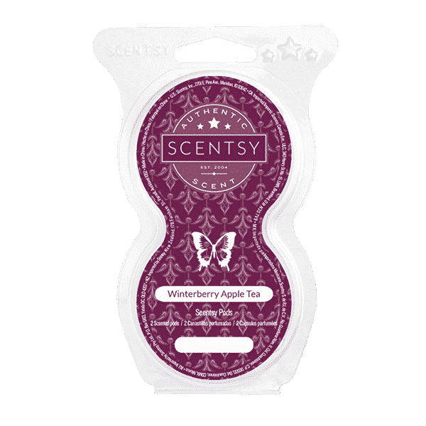 WINTERBERRY APPLE TEA SCENTSY GO PODS | NEW! WINTERBERRY APPLE TEA SCENTSY POD BEADS | Shop Scentsy | Incandescent.Scentsy.us