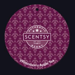 WINTERBERRY APPLE TEA SCENTSY SCENT CIRCLE | NEW! WINTERBERRY APPLE TEA SCENTSY SCENT CIRCLE | Shop Scentsy | Incandescent.Scentsy.us
