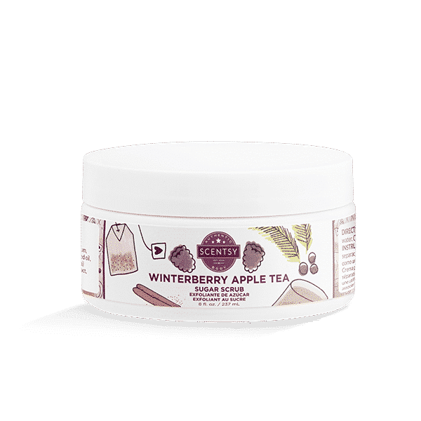 WINTERBERRY APPLE TEA SCENTSY SUGAR SCRUB