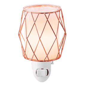 WIRED YOU BLUSHING MINI SCENTSY WARMER GLOW