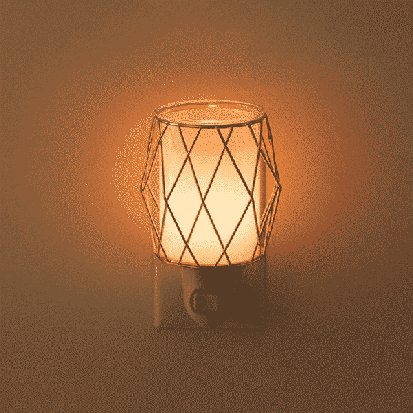 WIRED YOU BLUSHING MINI SCENTSY WARMER LIGHTS