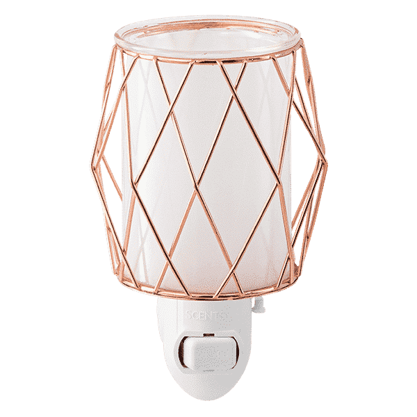 WIRED YOU BLUSHING SCENTSY WARMER NO LIGHT
