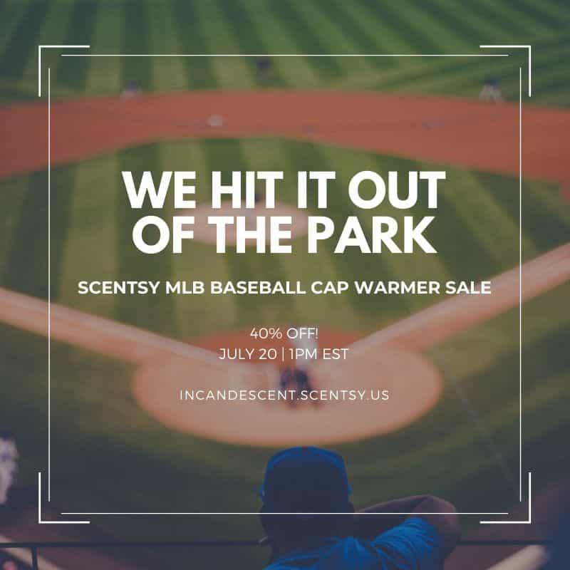 SCENTSY MLB SALE