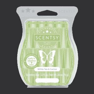 White Tea Cactus Scentsy Bar