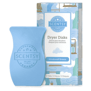 Windowsill Scentsy Dryer Disks