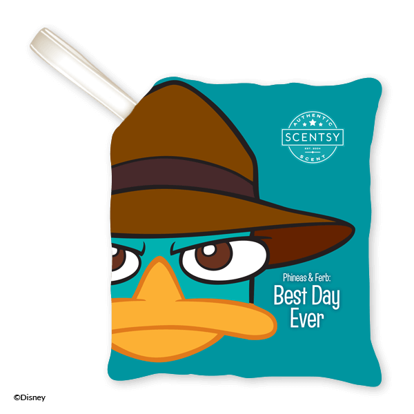 PHINEAS & FERB - PERRY THE PLATYPUS SCENTSY PAK