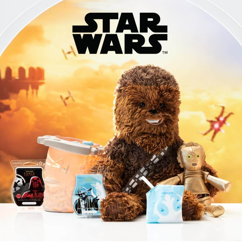 SCENTSY STAR WARS MILLENNIUM FALCON SCENTSY WARMER BUNDLE