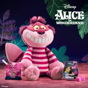 SCENTSY ALICE IN WONDERLAND CHESHIRE CAT SCENTSY BUDDY AND WE'RE ALL MAD HERE
