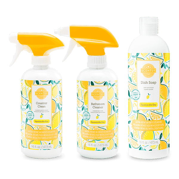 SQUEEZE THE DAY SCENTSY CLEAN BUNDLE   SQUEEZE THE DAY SCENTSY CLEAN BUNDLE   Shop Scentsy   Incandescent.Scentsy.us