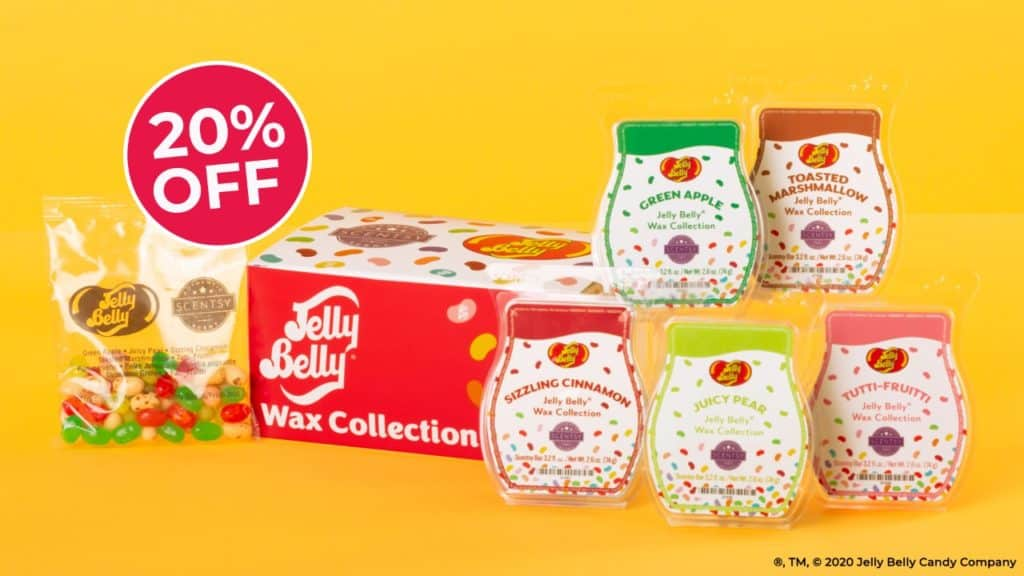 JELLY BELLY SCENTSY WAX COLLECTION