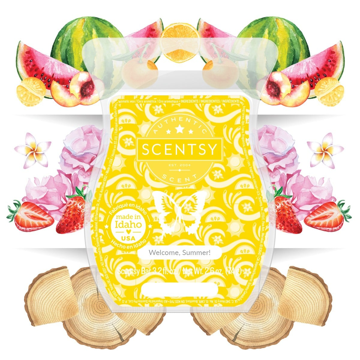 SCENTSY WELCOMEE SUMMER FRAGRANCE
