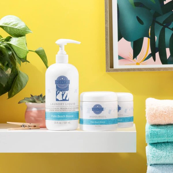 PALM BEACH BREEZE SCENTSY LAUNDRY BUNDLE | NEW! Palm Beach Breeze Scentsy Dryer Disks | Shop Scentsy | Incandescent.Scentsy.us