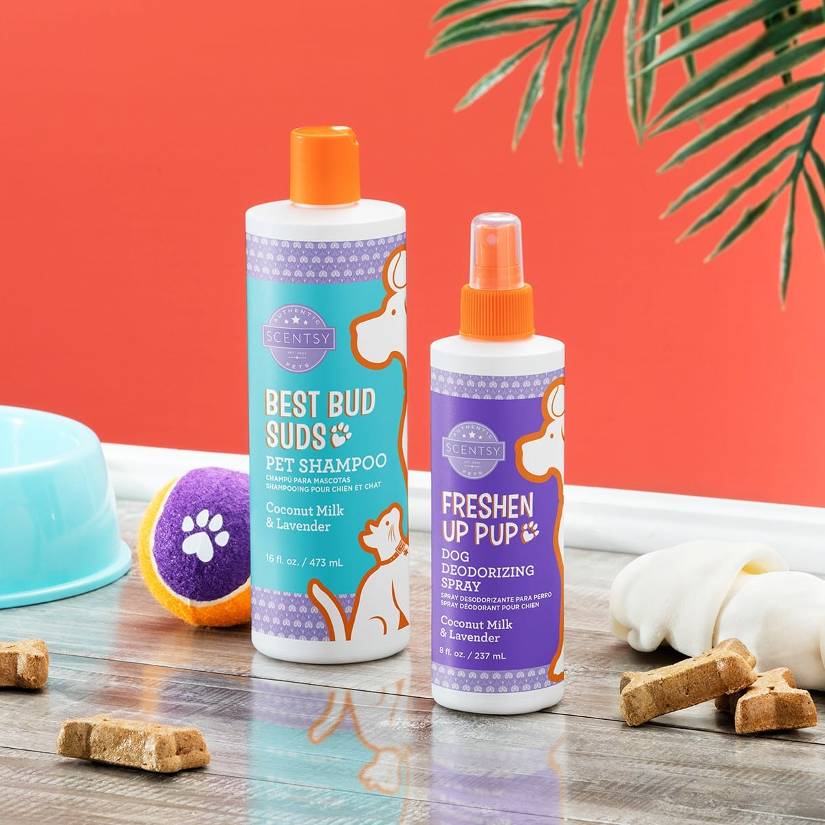 SCENTSY COCONUT MILK & LAVENDER PET PRODUCTS