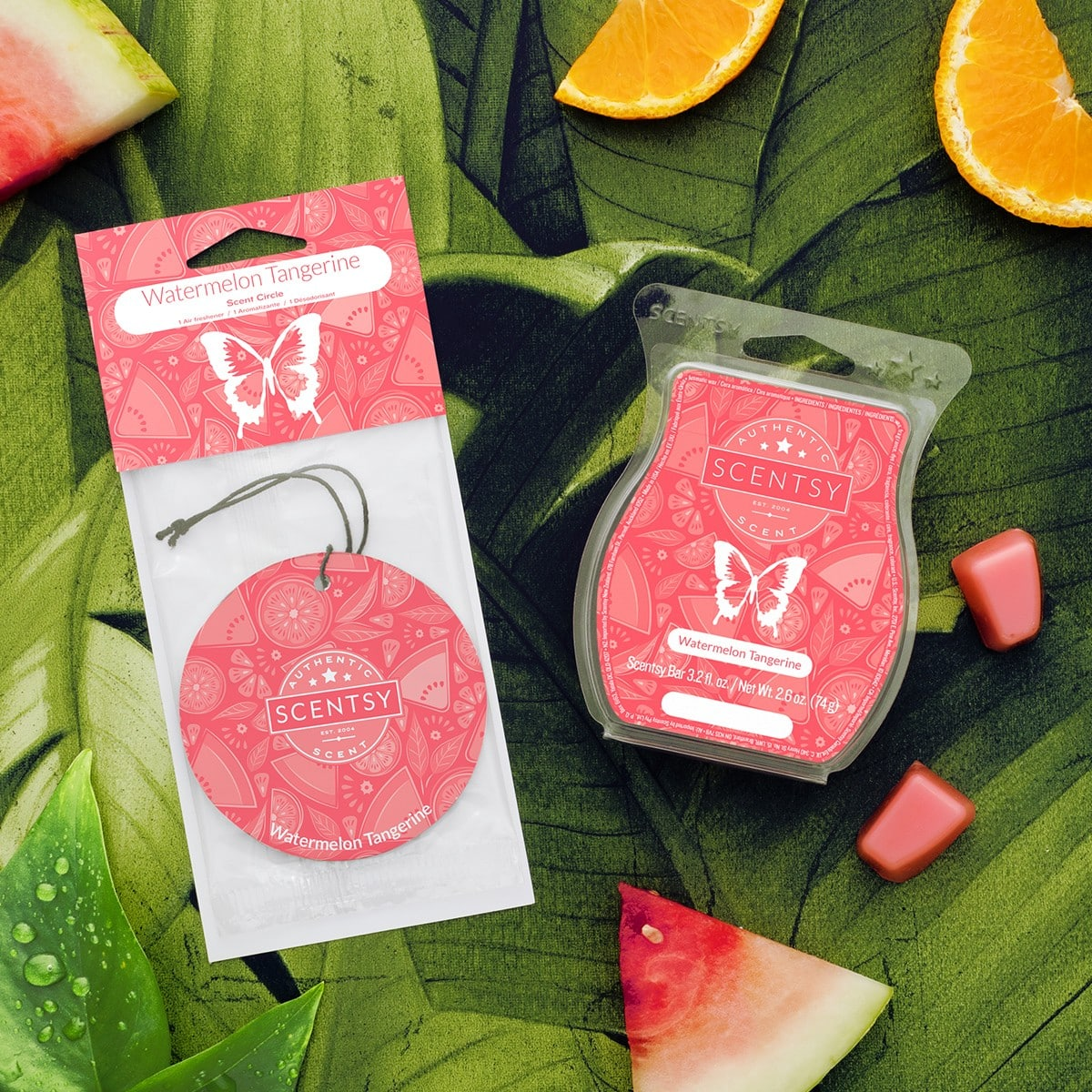 WATERMELON TANGERINE SCENTSY FRAGRANCE