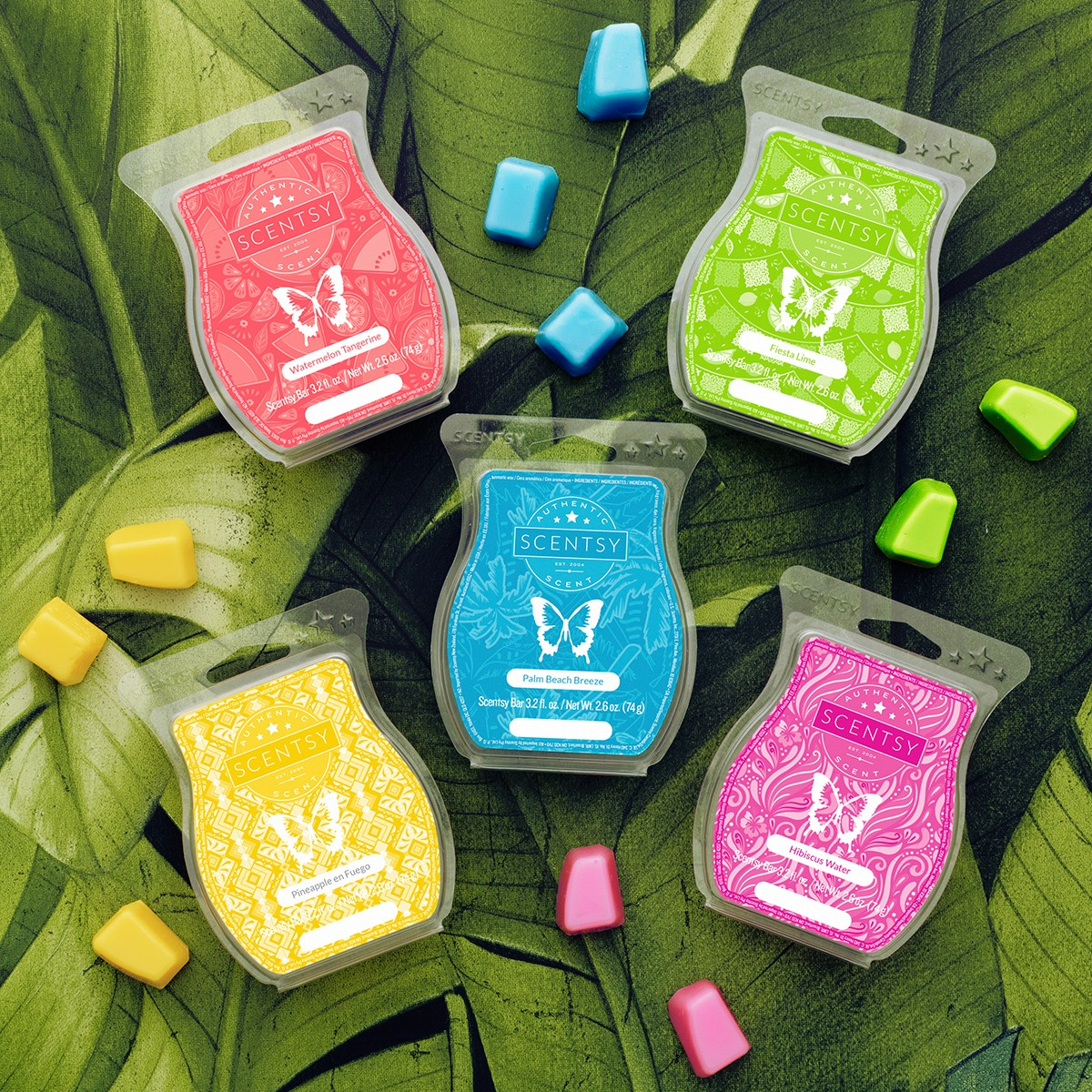 SCENTSY SUMMER COLLECTION SCENTS 2020