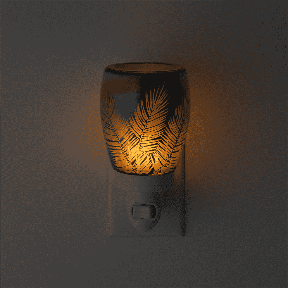 SCENTSY FROND OF YOU MINI WARMER