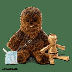 CHEWBACCA SCENTSY BUDDY & C-3PO BUDDY CLIP