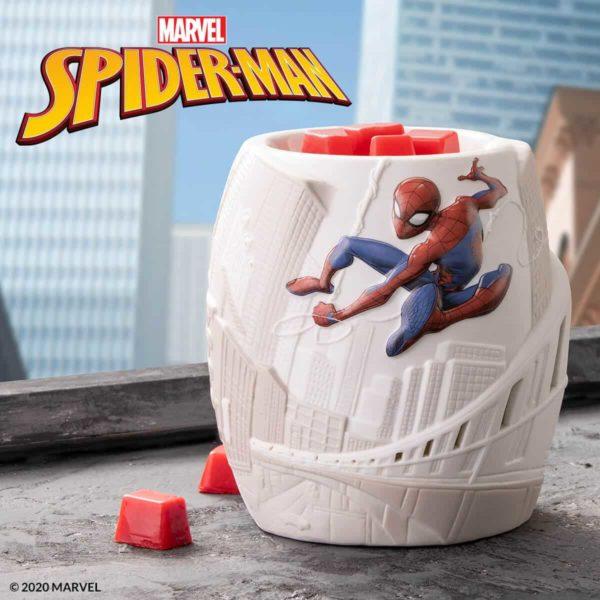 SPIDER MAN SCENTSY WARMER | SPIDER-MAN SCENTSY WARMER | MARVEL UNIVERSE