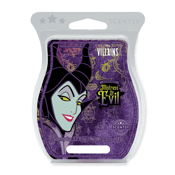 MALEFICENT MISTRESS OF EVIL SCENTSY BAR