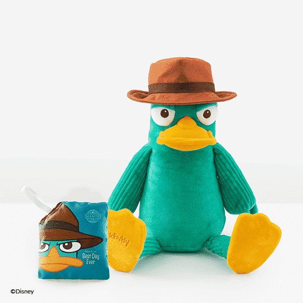 PERRY THE PLATYPUS SCENTSY BUDDY