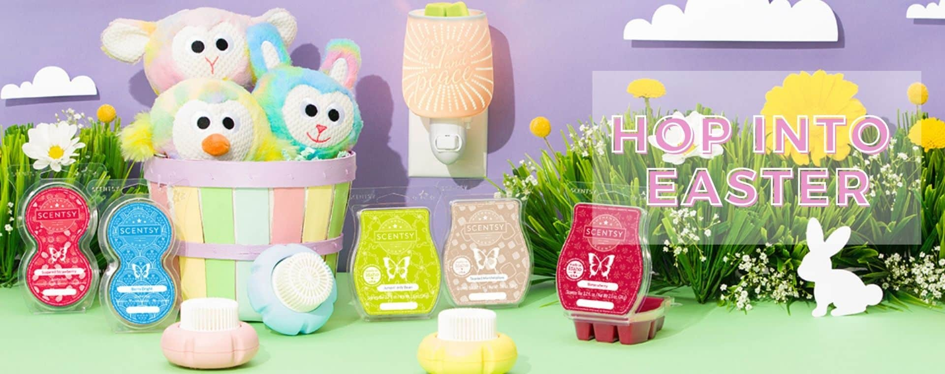 hop into easter Scentsy 2021