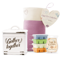 SCENTSY HYGGE WAX COLLECTION BUNDLE WITH GATHER TOGETHER WARMER