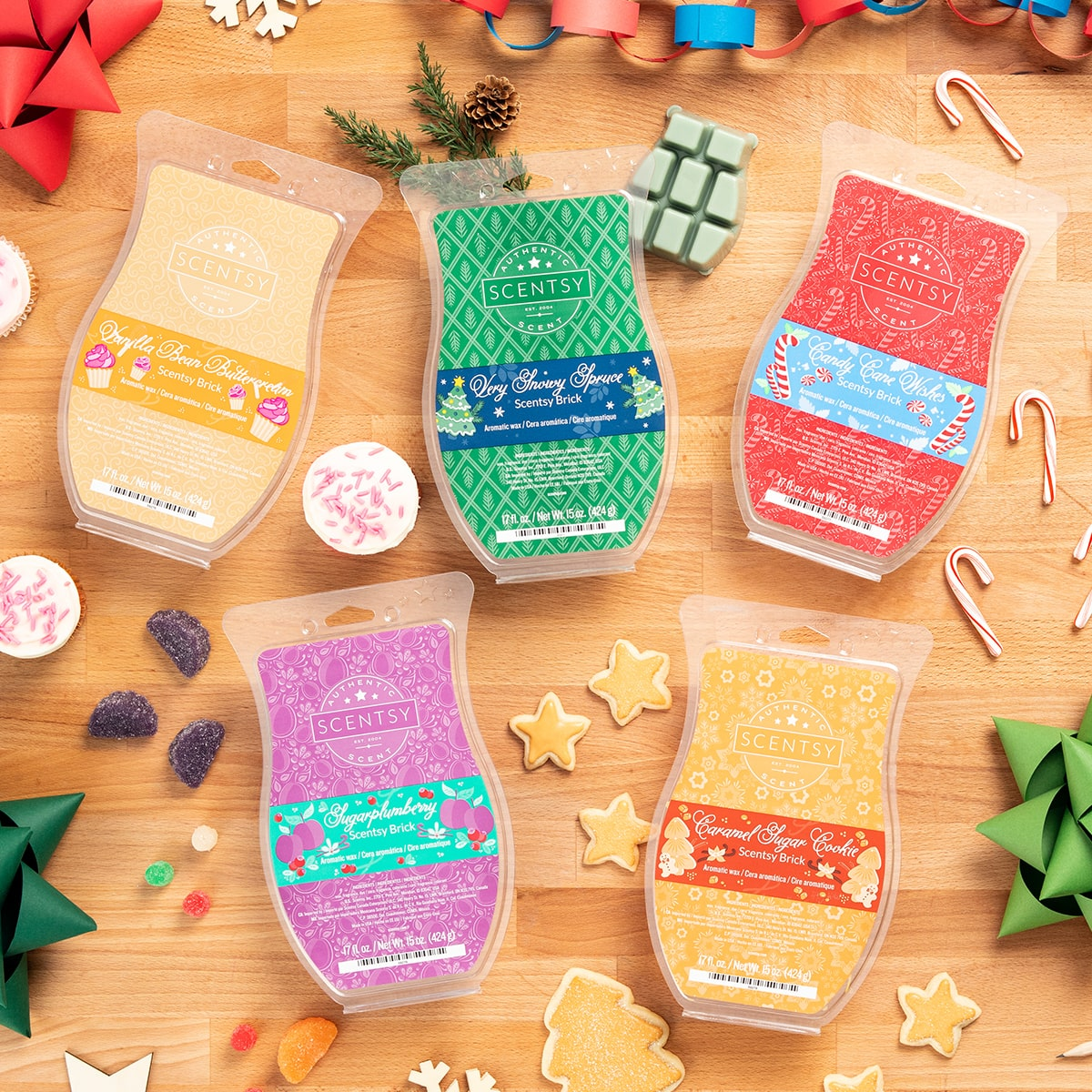 SCENTSY BRICKS ALL 2019