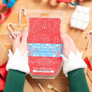 CANDY CANE WISHES SCENTSY BRICK