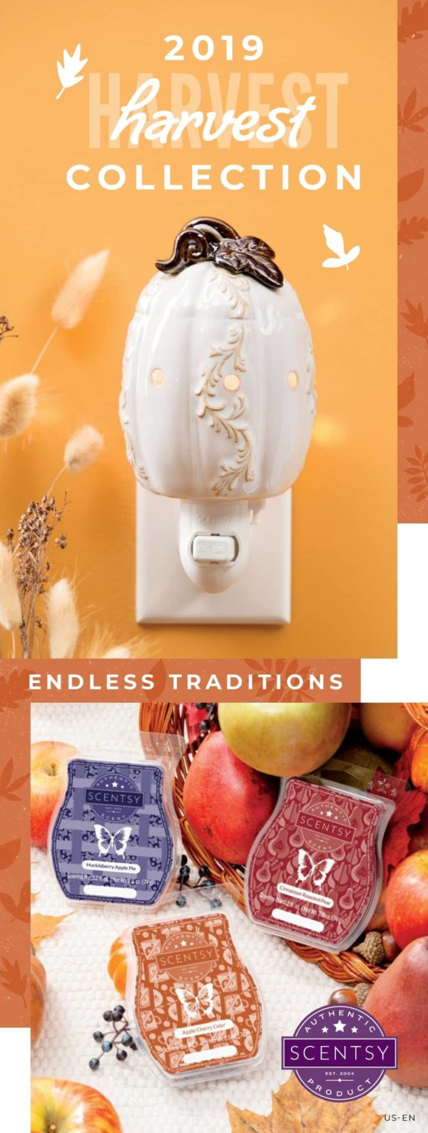 SCENTSY HARVEST 2019 BROCHURE COLLECTION