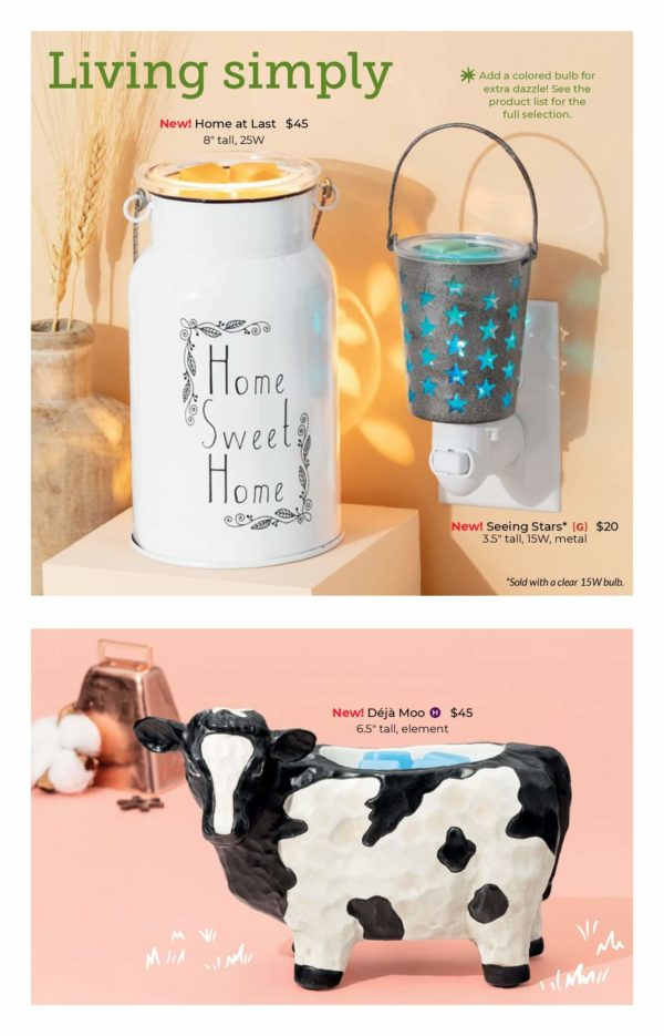 NEW FALL 2020 SCENTSY WARMERS