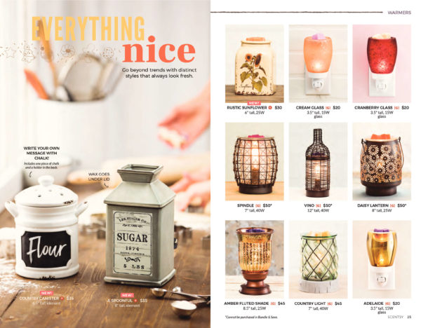 SCENTSY FALL WINTER 2018 2018 CATALOG PAGE 12