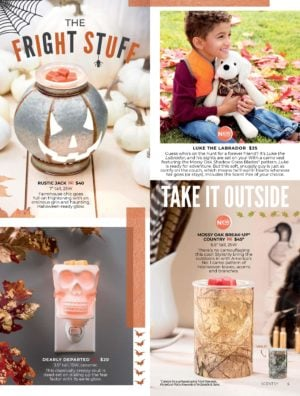 SCENTSY HARVEST 2019 BROCHURE COLLECTION PAGE 2