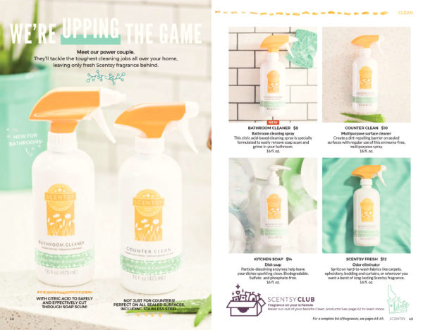 SCENTSY BATHROOM CLEANER | NEW! ALOE WATER AND CUCUMBER SCENTSY FRESH | Shop Scentsy | Incandescent.Scentsy.us