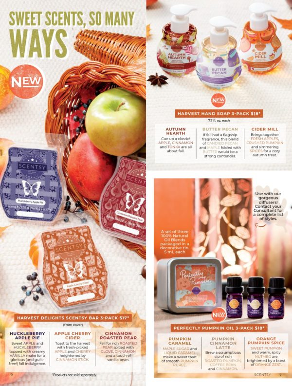 SCENTSY HARVEST 2019 BROCHURE COLLECTION PAGE 3