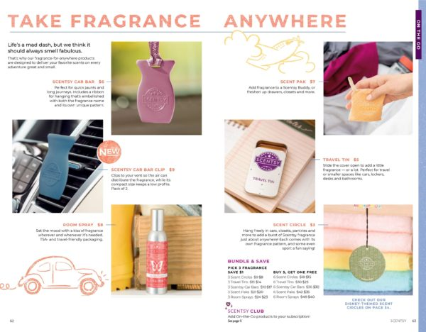 SCENTSY ON THE GO FALL 2019 CATALOG