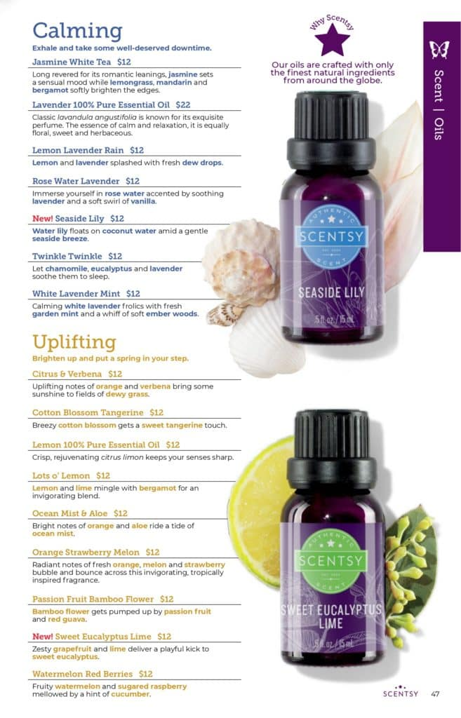 page 46 3 | Scentsy Complete Scent List for 2021 Spring Summer
