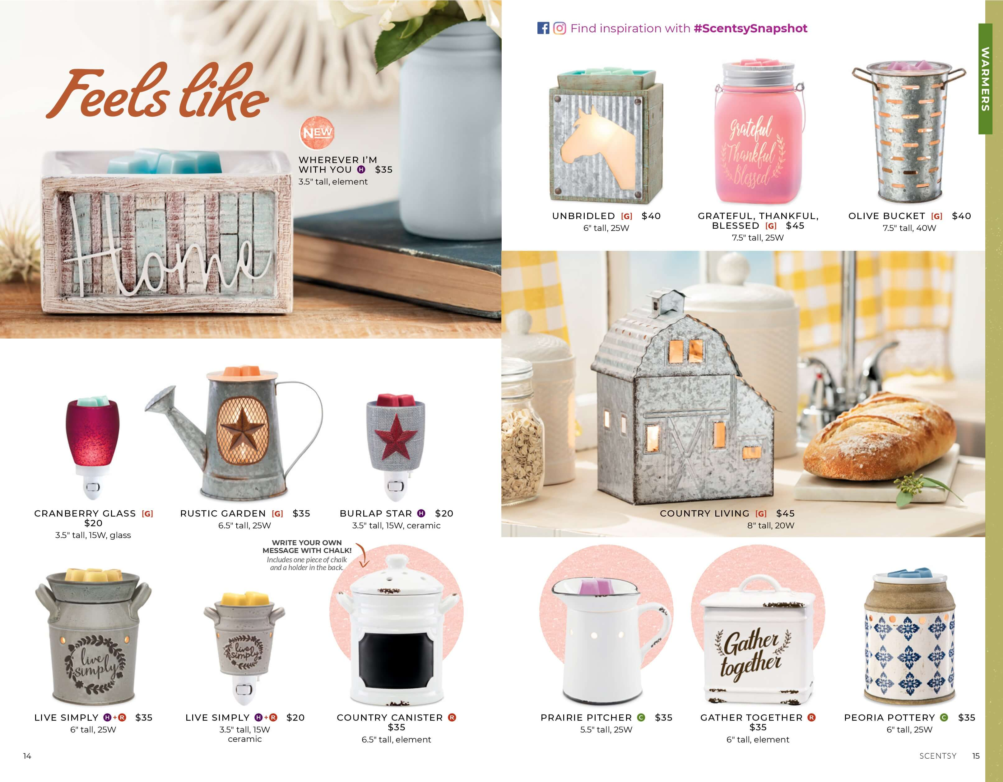 Scentsy Fall Winter 2019 Catalog Slideshow Incandescent Scentsy Us