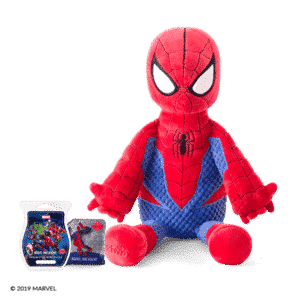 SPIDER-MAN SCENTSY BUDDY WITH NINE REALMS SCENTSY PAK & BAR