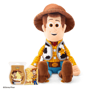 WOODY SCENTSY BUDDY WITH SCENT PAK & SCENTSY BAR REACH FOR THE SKY