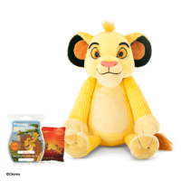 SIMBA LION KING SCENTSY BUDDY WITH PAK AND BAR